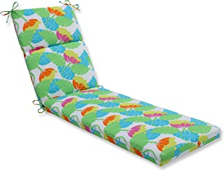 Pillow Perfect Outdoor/Indoor Avia Fiesta Chaise Lounge Cushion