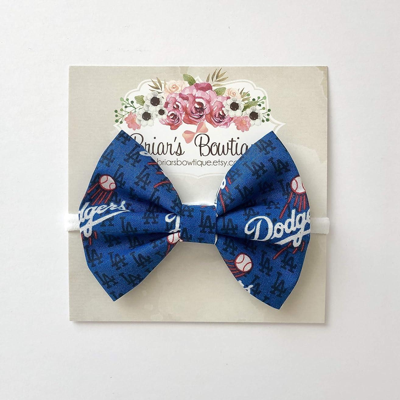 Los Angeles Dodgers Bow Headband or Hair Clip