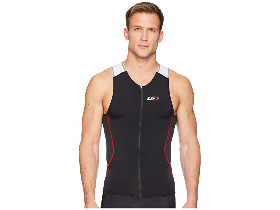 Louis Garneau Tri Comp Sleeveless (White/Black/Red) Men
