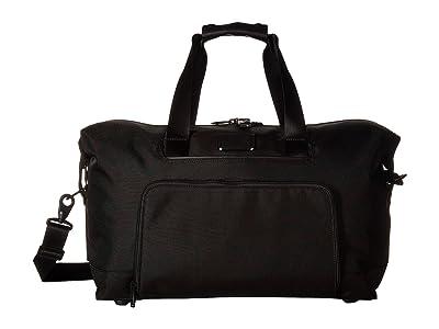 Tumi Alpha 3 Double Expansion Travel Satchel (Black) Luggage