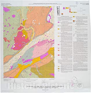 Historic Pictoric Map : Surficial geologic map of The Jordan West Quadrangle, Carver and Scott Counties, Minnesota, 1999 Cartography Wall Art : 16in x 16in