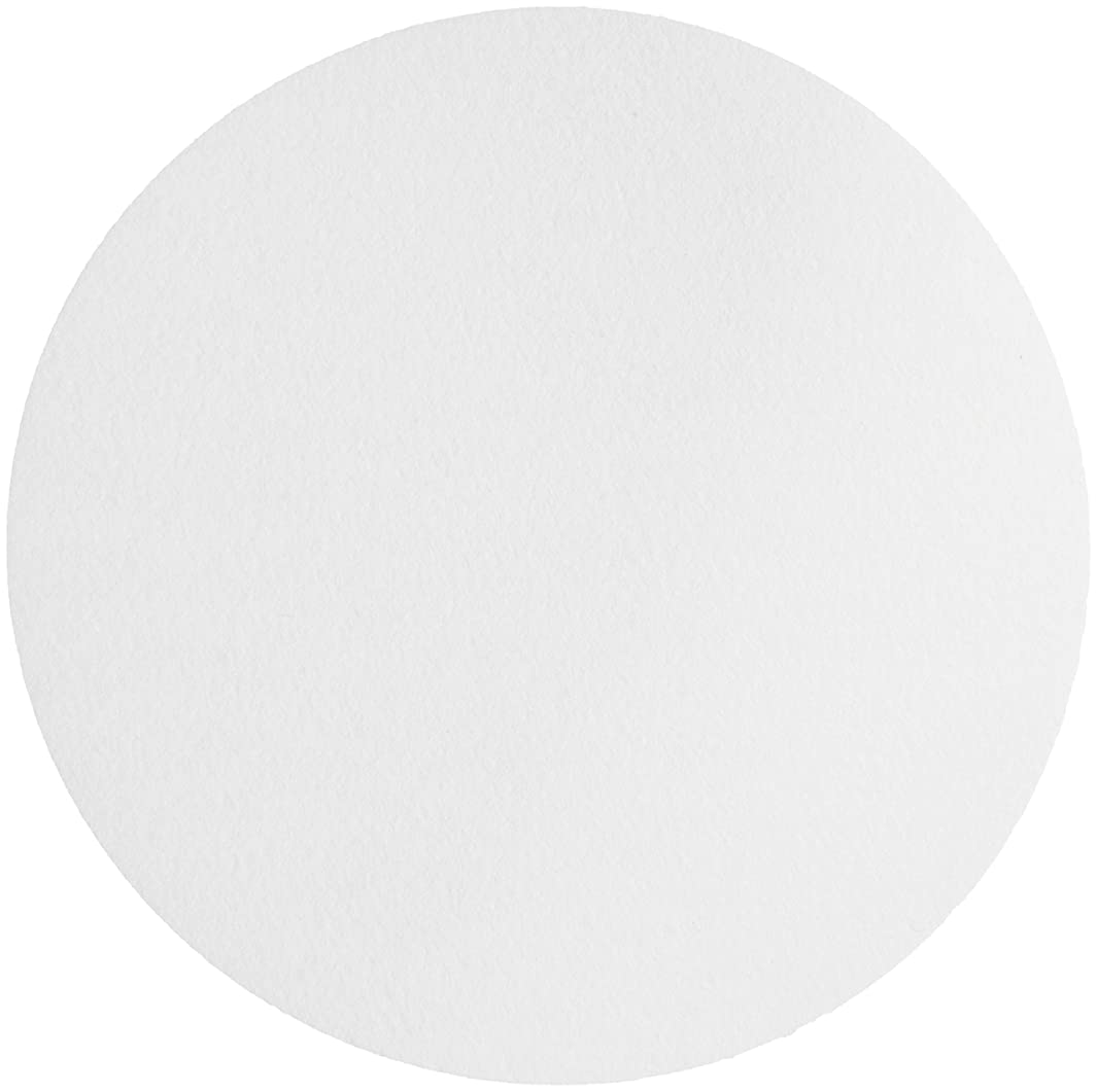 Whatman 1004-185 Quantitative Filter Paper Circles, 20-25 Micron, 3.7 s/100mL/sq inch Flow Rate, Grade 4, 185mm Diameter (Pack of 100)