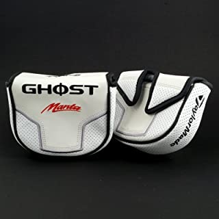 TaylorMade GHOST Tour Manta Mallet Putter Headcover, Center Shaft