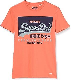 Superdry Men's Vl O Tee Casual Shirt