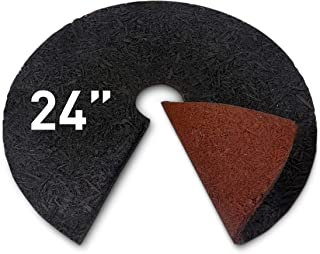 EasyGo Product Tree RubberRing24 Rubber Mulch Ring 24', 24