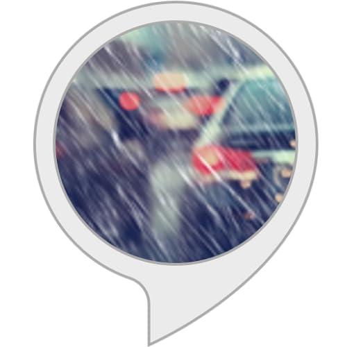 Ruido de lluvia en el coche