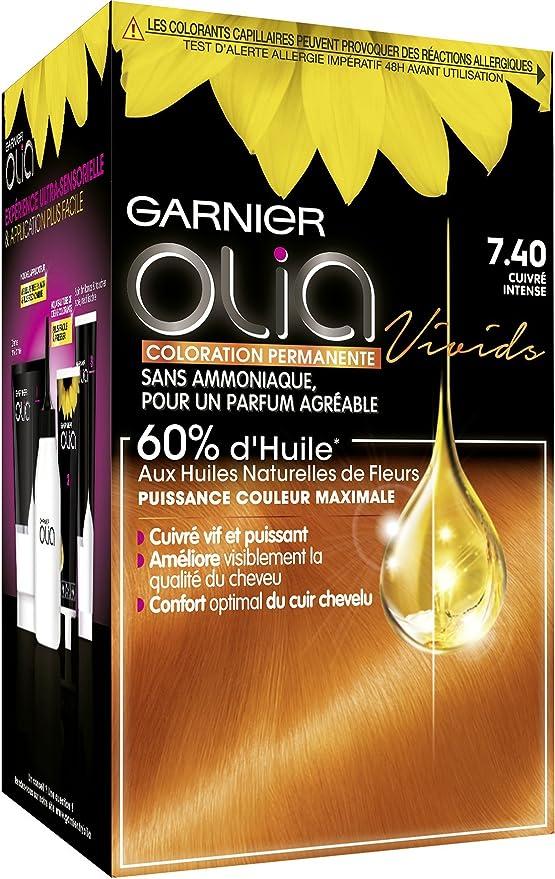 Garnier Coloration Permanente, Sans Ammoniaque, Aux Huiles ...