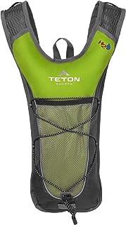TETON Sports Trailrunner 2 Liter Hydration Backpack Perfect for Biking, Running, Hiking, Climbing, and Hunting