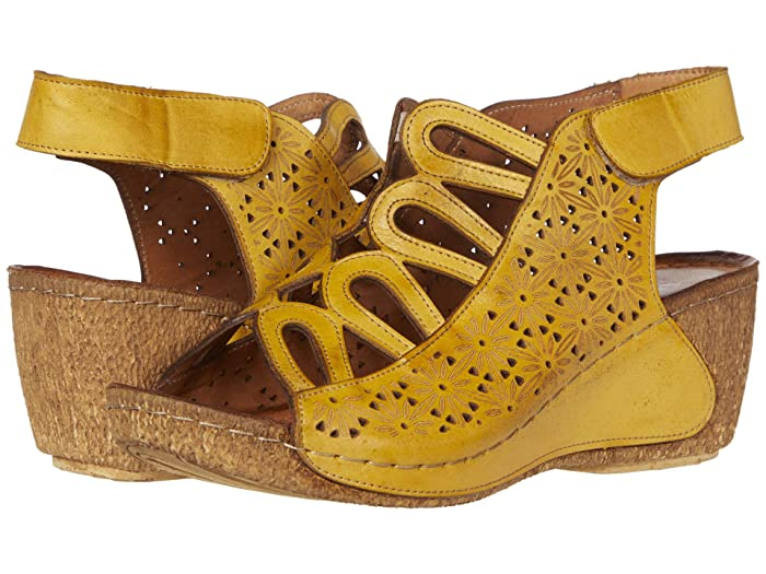 Spring Step  Inocencia (Yellow) Womens Shoes
