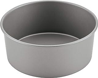 Farberware Baking Nonstick Pressure Cooker Bakeware/Cake Pan, Round, 7 Inch, Gray