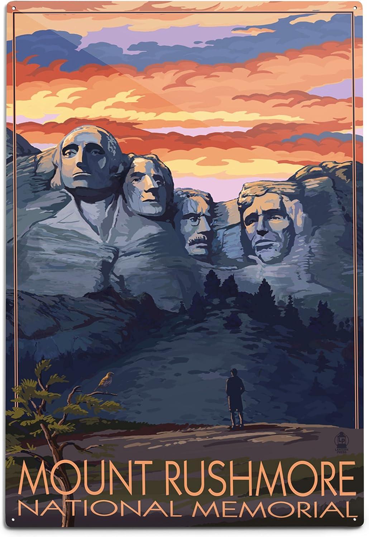 Wall Art Home Decor South Dakota Art//Canvas Print C Mount Rushmore Poster