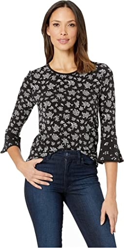 Wildflower Mix Sleeve Top