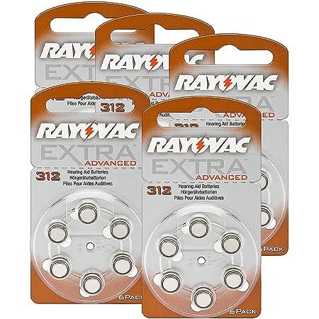 Rayovac Hörgeräte Batterien 312 Extra Advanced 1 45v Elektronik
