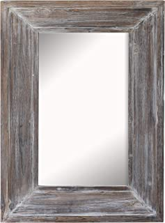 Best small rustic bathroom mirror Reviews