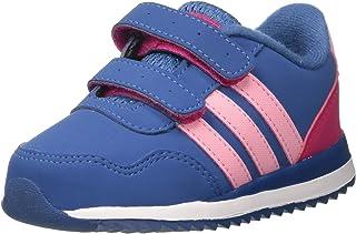 Adidas V Jog CMF INF Chaussures de sport pour enfants, Noir