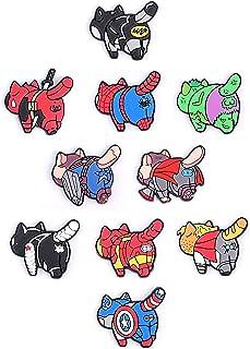 Exclusive Cat Butt Refrigerator Magnets - Superhero cats butts fridge magnets - Marvel Legends