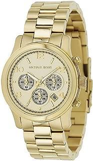 Michael Kors Copper Midsized Round Dial Chronograph Women Quartz Wristwatch Mk5055