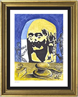 Salvador Dali Signed & Hand-numbered Limited Edition Lithograph Print,