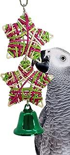 Bonka Bird Toys Christmas Tree Star Toy Parrot cage Cages Parakeet Cockatiel Xmas Conure