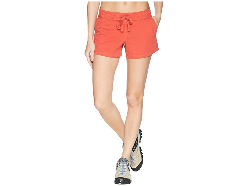 The North Face Basin Shorts (Sunbaked Red) Women