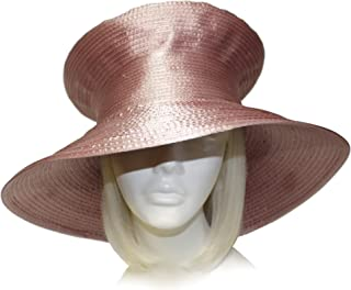 Mr. Song Millinery Satin-CRIN Stovetop Crown Wide Brim Hat Body (UNTRIMMED HAT ONLY) 301