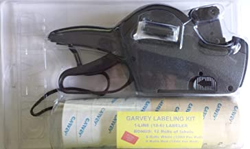 Garvey 18-6 Pricing Gun Kit, includes labels and extra Ink Roller