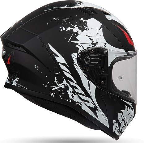 Airoh Helmet Valor Akuna Matt Black Xl Auto