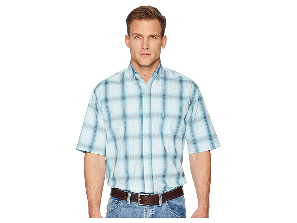 Stetson 1511 Storm Plaid (Blue) Men