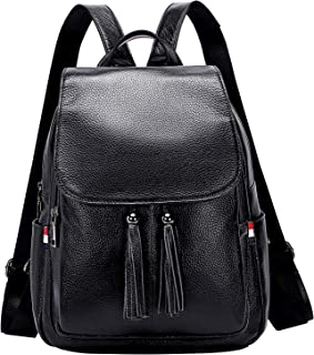 ALTOSY Genuine Leather Backpack Purse for Women Fashion Ladies Rucksack Travel Bag