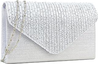 56c00fb229 Women Evening Envelope Handbag Party Prom Clutch Purse Shoulder Cross Body  Bag