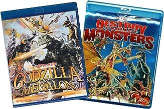 Godzilla Vs. Megalon / Destroy all Monsters (Two-Pack) [Blu-ray]