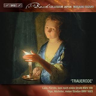 J.S.バッハ : 世俗カンタータ Vol.6 (J.S.Bach : 'Trauerode' - / Lass, Furstin, lass noch einen Strahl BWV 198 | Tilge, Hochster, meine...