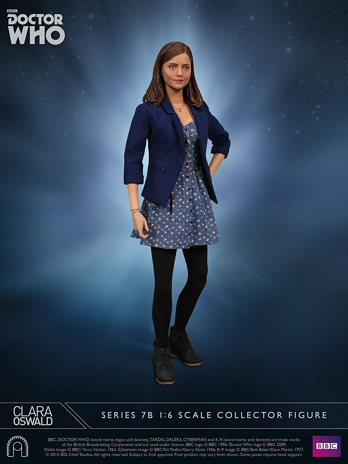 gree  ef Studios Doctor Who Collector cifra Series azione cifra 1 6 Clara Oswald Series 7B 30 c