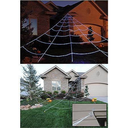 """Sale 5 Yards 7//8/"""" Printed Orange Spider Web Halloween Holiday Grosgrain  Lisa"""