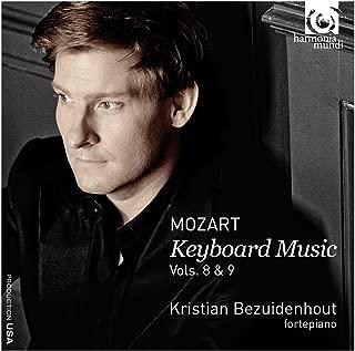 モーツァルト : 鍵盤曲集 Vol.8 & Vol.9 Mozart : Keyboard Music Vols. 8 & 9 / Kristian Bezuidenhout fortepiano  輸入盤  日本語帯・解説付