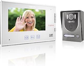 Somfy V250 video-intercom met 7 inch (17,8 cm), wit