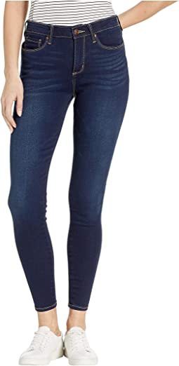 Seamless Skinny Jeans in Dark Blue