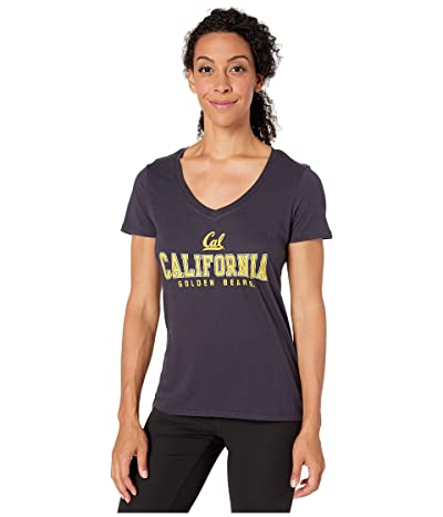 Champion College Cal Bears University V-Neck Tee (Navy 2) Women