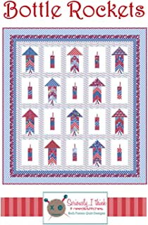 Bottle Rockets Patriotic Quilt Pattern by Kelli Fannin Quilt Designs from Seriously I Think it Needs Stitches KFQP133