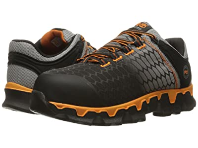 Timberland PRO Powertrain Alloy Toe SD+ (Grey Synthetic/Orange) Men