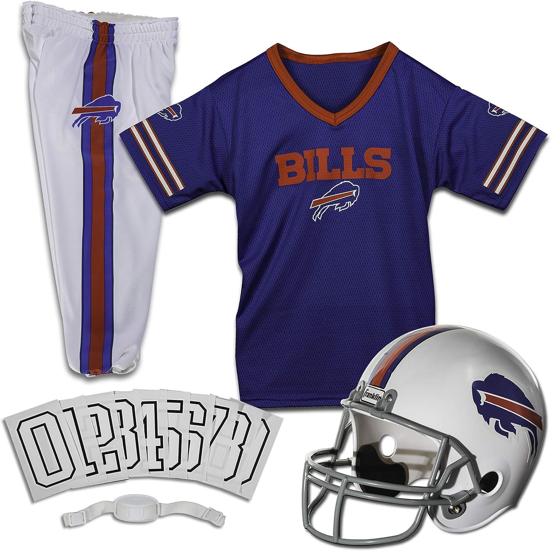 Franklin Sports Buffalo Bills Kids Football Yo Uniform NFL - specialty [Alternative dealer] shop Set