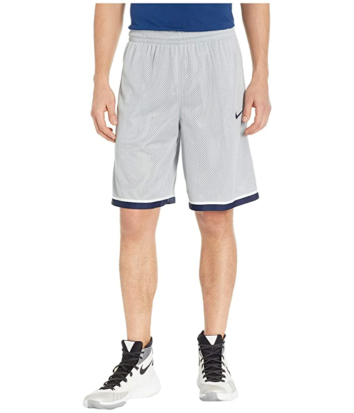 Nike Dry Classic Shorts (Flat Silver/Pure Platinum/College Navy) Men