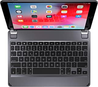 Brydge 10.5 Keyboard for iPad Air (2019) and iPad Pro 10.5-inch | Aluminum Bluetooth Keyboard with Backlit Keys (Space Gray)