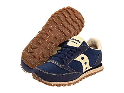Saucony Originals Jazz Low Pro Vegan (Navy Marine) Men