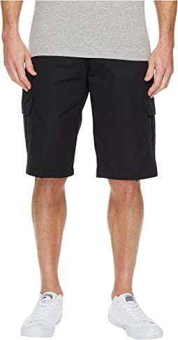 "13"" Relaxed Fit Mechanical Stretch Cargo Shorts"
