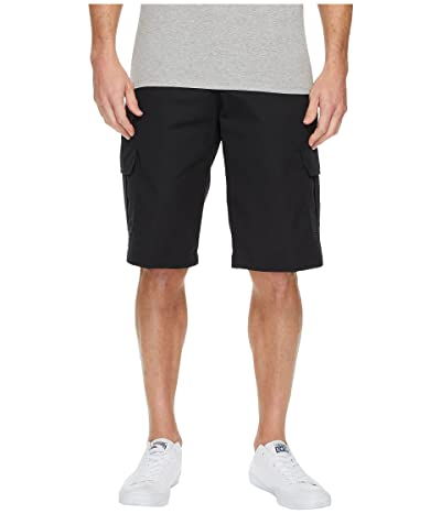 Dickies 13 Relaxed Fit Mechanical Stretch Cargo Shorts (Black) Men