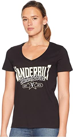 Vanderbilt Commodores University V-Neck Tee