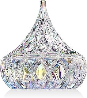 Godinger Hershey Kiss Holiday Jewelry, Trinket Holder, Candy Dish-Iridescent