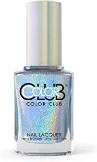 Color Club Halographic Hues Nail Polish, Blue Heaven, 0.5 Ounce