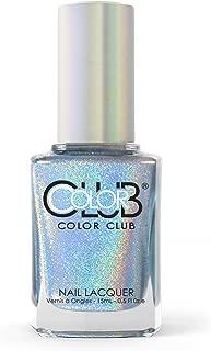 Color Club Halographic Hues Nail Polish, Blue Heaven, 0.5 Ounce